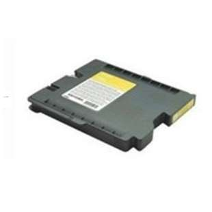 Compatible ink cartridge guaranteed to replace Ricoh 405704 (GC31Y HY) - high capacity yellow