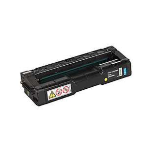 Original Ricoh 406047 (Type SPC220A) toner cartridge - cyan