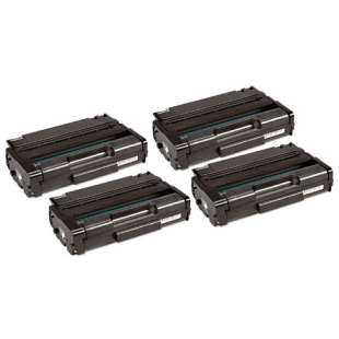 Compatible Ricoh 406628 (Type 6330A) toner cartridges - 4-pack