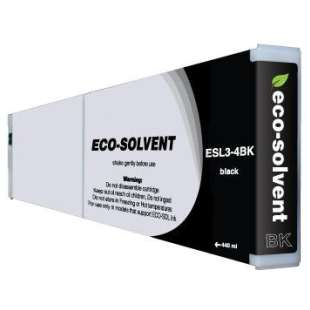Compatible ink cartridge guaranteed to replace Roland ESL3-4BK - eco-sol max black