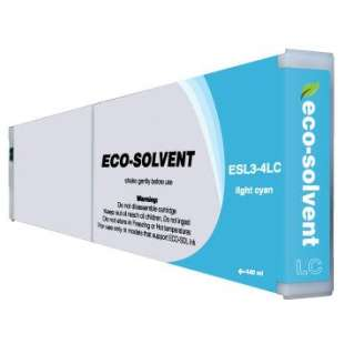 Compatible ink cartridge guaranteed to replace Roland ESL3-4LC - eco-sol max light cyan