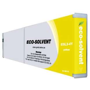 Compatible ink cartridge guaranteed to replace Roland ESL3-4Y - eco-sol max yellow