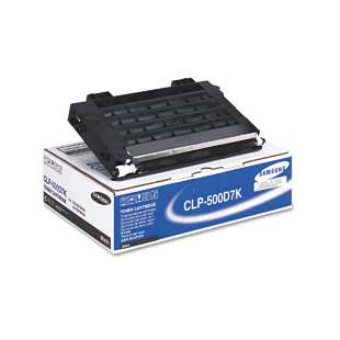 Original Samsung CLP-500D7K toner cartridge - black cartridge