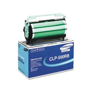 Original Samsung CLP-500RB toner cartridge - black cartridge