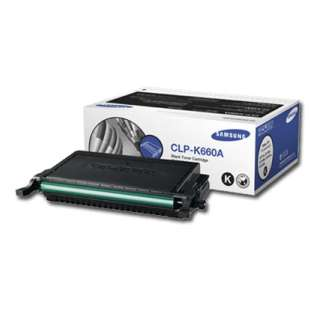 Original Samsung CLP-K660A toner cartridge - 2500 pages - black cartridge
