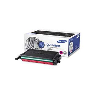 Original Samsung CLP-M660A toner cartridge - 2000 pages - magenta