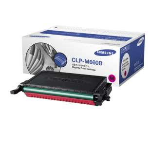 Original Samsung CLP-M660B toner cartridge - 5000 pages - magenta