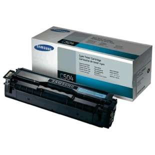 Original Samsung CLT-C504S toner cartridge - cyan