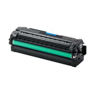 Compatible Samsung CLT-C505L toner cartridge - high capacity cyan