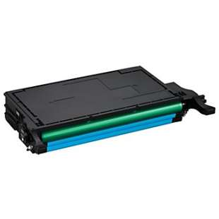 Compatible Samsung CLT-C508L toner cartridge - high capacity cyan