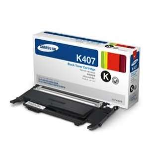 Original Samsung CLT-K407S toner cartridge - black cartridge