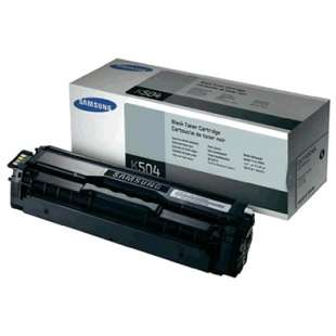 Original Samsung CLT-K504S toner cartridge - black cartridge