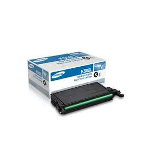 Original Samsung CLT-K508L toner cartridge - high capacity black