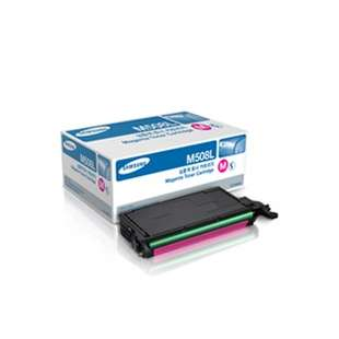 Original Samsung CLT-M508L toner cartridge - high capacity magenta
