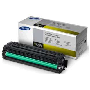 Original Samsung CLT-Y504S toner cartridge - yellow