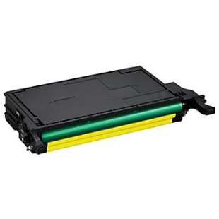 Compatible Samsung CLT-Y508L toner cartridge - high capacity yellow