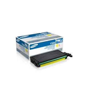 Original Samsung CLT-Y508S toner cartridge - yellow
