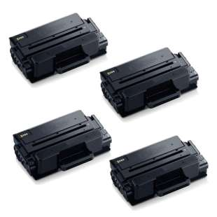 Compatible Samsung MLT-D203L toner cartridges - high capacity black - 4-pack