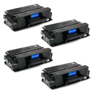 Compatible Samsung MLT-D203U toner cartridges - ultra capacity black - 4-pack