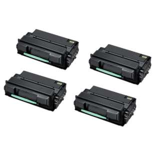 Compatible Samsung MLT-D305L toner cartridges - black cartridge - 4-pack