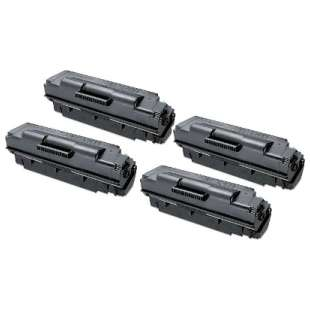 Compatible Samsung MLT-D307E toner cartridge - extra high capacity black - 4-pack