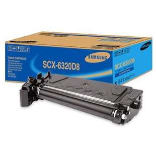Original Samsung SCX-6320D8 toner cartridge - black cartridge