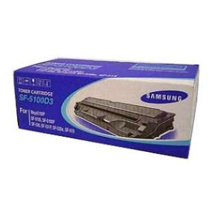 Original Samsung SF-5100D3 toner cartridge - black cartridge