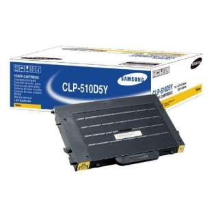 Original Samsung CLP-510D5Y toner cartridge - yellow