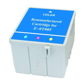 Remanufactured Epson T005011 high quality inkjet cartridge - color cartridge