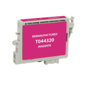 Remanufactured Epson T044320 high quality inkjet cartridge - magenta