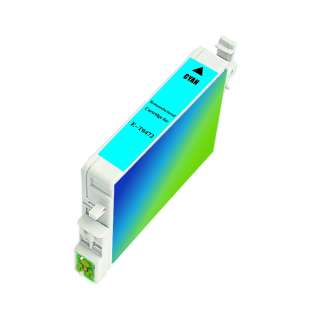 Remanufactured Epson T047220 high quality inkjet cartridge - cyan