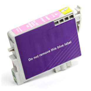 Remanufactured Epson T048620 (48 ink) high quality inkjet cartridge - light magenta
