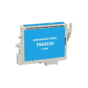 Remanufactured Epson T060220 (60 ink) high quality inkjet cartridge - cyan