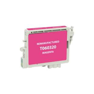 Remanufactured Epson T060320 (60 ink) high quality inkjet cartridge - magenta