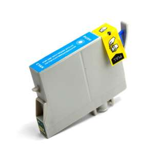 Remanufactured Epson T063220 high quality inkjet cartridge - cyan