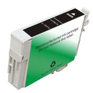 Remanufactured Epson T0731 high quality inkjet cartridge - black cartridge