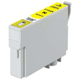 Remanufactured Epson T0734 high quality inkjet cartridge - yellow