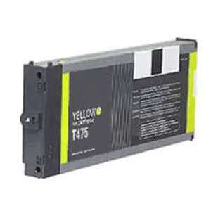 Remanufactured ink cartridge guaranteed to replace Epson T475011 - yellow