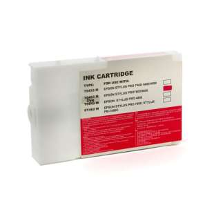 Remanufactured ink cartridge guaranteed to replace Epson T545300 - magenta