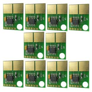 10 PACK: SmartChip Replacements for Dell B2360 / B3460 / B3465 (331-9803) - 2500 yield