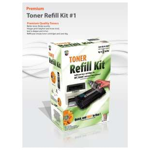 Durafirm DIY Toner Refill Kit guaranteed compatible for the Brother TN-540 / TN-570