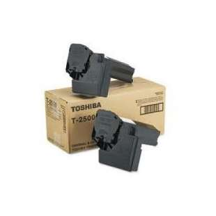 Original Toshiba T-2500 toner cartridge - black cartridge - 2-pack