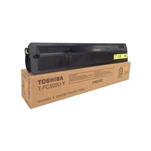 Original Toshiba TFC505UY toner cartridge - yellow
