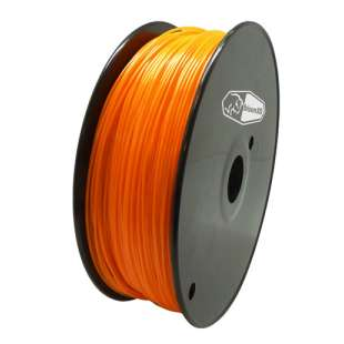 3D Filament (Bison3D brand) for 3D Printing, 1.75mm, 1kg/roll, Orange (TYPLA)
