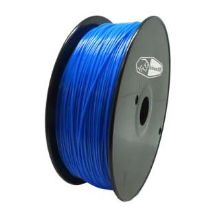 3D Filament (Bison3D brand) for 3D Printing, 3mm, 1kg/roll, Blue (TYPLA)