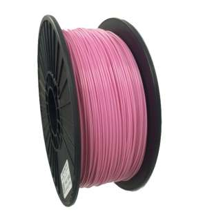 3D Filament (Bison3D brand) for 3D Printing, 3mm, 1kg/roll, Pink (TYPLA)