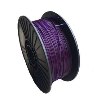 3D Filament (Bison3D brand) for 3D Printing, 3mm, 1kg/roll, Purple (TYPLA)