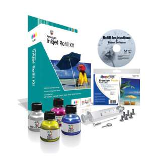 Durafirm Ink Refill Kit - color cartridge - Cyan, Magenta, Yellow