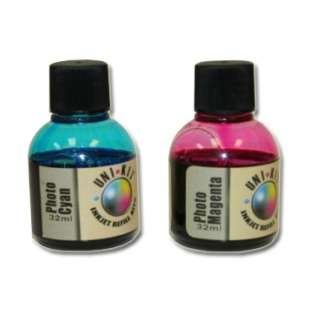 Durafirm Ink Refill Kit - Photo - Light Cyan, Light Magenta