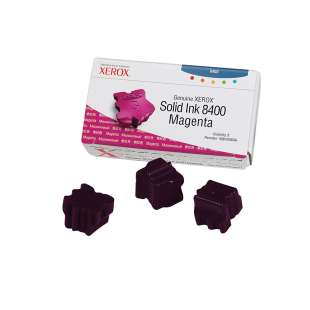 Original Xerox 108R00606 solid ink sticks - 3 magenta